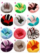 Hot Baby Support Seat Plush Soft Baby Sofa Infant Learning To Sit Chair ... - $33.41
