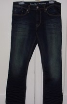 Vintage Spirit By Buffalo Jeans Mens W 32 X L 30 Spencer Slim Blue Jeans - $431,62 MXN