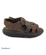 SKECHERS Shape-Ups Leather Sandals Shoes Women's 8.5 38.5 - $38.00