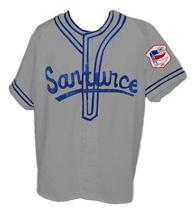 Roberto Clemente #21Santurce Retro Baseball Jersey Grey Any Size image 1