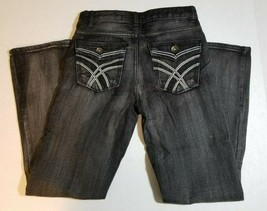NWT Route 66 Regular Fit Bootcut Boys Youth Jeans Size 12 Black - $9.99