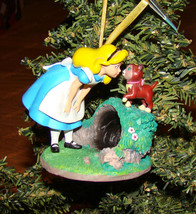 Alice and Dinah Sketchbook Ornament (Disney Store, 908336) Alice in Wond... - $38.12