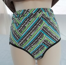 COCO REEF TANKINI & REVERSIBLE HIGH WAISTED/ROLL OVER BOTTOM,SIZE 32C/SMALL image 3