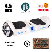 "4.5"" mini white hoverboard two wheel balance scooter Ul2272 safe - $224.00"