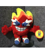 Toy Network Red Orange Yellow HOTTIE Fire Flames Stuffed Plush Toy - $27.72