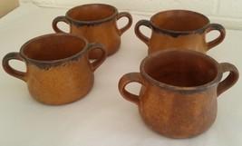 McCoy Vintage Mesa Two Handled Bowls Crocks Pottery - $39.59