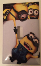 Minions Help me up Light Switch Power Duplex Outlet Wall Cover Plate Home decor