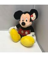 "The Disney Store Mickey Mouse Plush Stuffed Animal 16"" - $59.99"