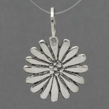Retired Silpada Oxidized Sterling Silver Daisy Flower Pendant S1742 - $19.99