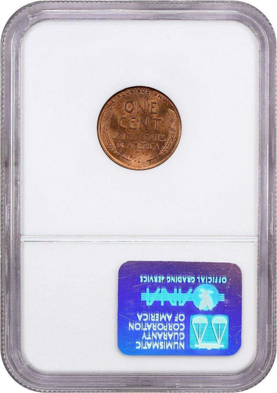 1913 1c NGC MS64 RB - Lincoln Cent