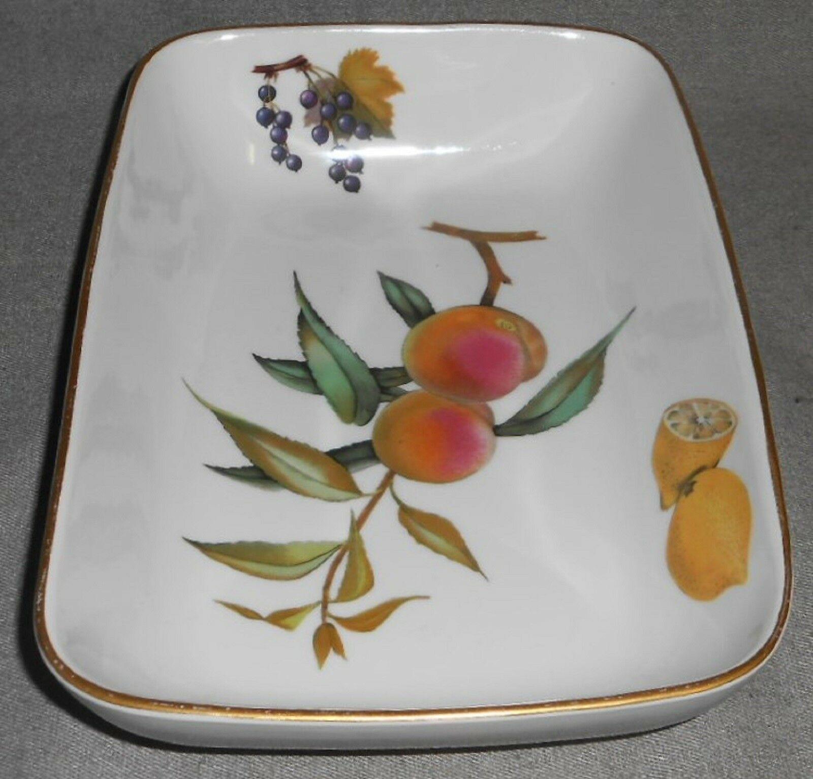 Royal Worcester EVESHAM GOLD PATTERN Rectangular Baking Dish MADE IN ENGLAND image 5