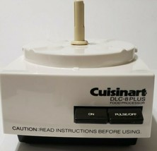 CUISINART DLC-8 PLUS DLC-8E Food Processor Motor Base Only Made in Japan... - $69.29