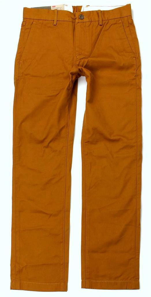 Levi's Strauss 513 Men's Slim Straight Fit Cotton Pants 513-0015