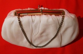 Evening Bag Convertible Clutch Bag by Harry Levine Ivory White Vintage - $20.00