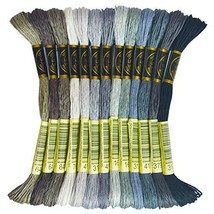 Premium Rainbow Color Embroidery Floss - Cross Stitch Threads - (646-310) - $6.09