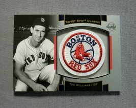 2003 Sweet Spot Classics Patch Cards #TW1 Ted Williams - $9.89