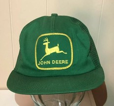John Deere K Products Mesh Patch Hat Snapback Trucker Vintage USA Made C... - $86.63
