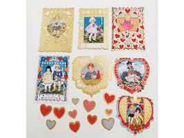 """SEI """"Think of Me"""" Die-Cut Accents, 29 Pieces, Scrapbooking, Cards, Journaling image 3"""