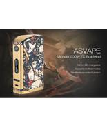 Original ASVAPE Michael 200W TC Mod with USA VO200 Chip FREE SHIPPING  - $99.00