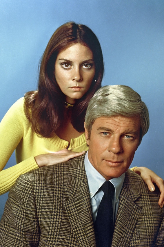 Primary image for Lesley Ann Warren and Peter Graves in Mission: Impossible 1971 season portrait 1