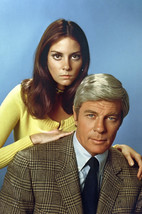 Lesley Ann Warren and Peter Graves in Mission: Impossible 1971 season po... - $23.99