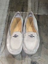 Women's Coach Shoes Loafers (Mary Lock Up) a00926 size 6B - $32.73