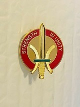 US Military 655th Support Group Insignia Pin - Strength In Unity - $10.00