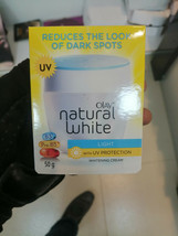 OLAY NATURAL WHITE Light with UV Protection whitening cream- B3,Pro -B5,... - $19.61