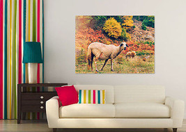 3D Ziege auf der Prärie 744 Fototapeten Wandbild BildTapete Familie AJSTORE DE - $36.55+