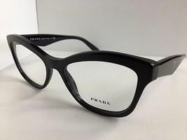 New PRADA VPR 2R9 1AB-1O1 54mm Black Cats Eye Women's Eyeglasses Frame  #7 - $189.99