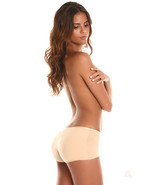 BubbleBuns Lowrise Padded Boyshort Panties by Bubbles Bodywear - $35.00