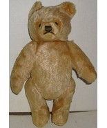 "STEIFF (?) Mohair jointed plush Teddy Bear heart shape face 12"", no tags - $89.99"