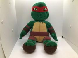 Build A Bear Teenage Mutant Ninja Turtles Raphael Plush Doll Plays Theme... - $24.75