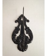 """Vintage Victorian Cast Iron Keyhole Wall Hook 5.5"""" Rustic Home Decor  - $14.60"""