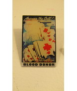 Blood Donor Pins (AMERICAN RED CROSS)  - $15.50