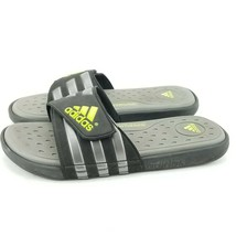 reputable site 72457 e6481 Adidas Supercloud Slides Mens Size 9 Sport Sandals Black Gray - 12.19