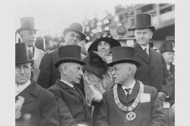 President and Mrs. Coolidge at the laying of the cornerstone of the George Washi - $19.99+