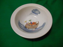 "One (1), 6 1/4"" Porcelain, Child's Bowl, from Royal Worcester, in the No... - $17.99"