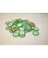 Leap Frog Educational Toy Leap-in-a-Line SchoolBus Game 54 Green token R... - $14.95