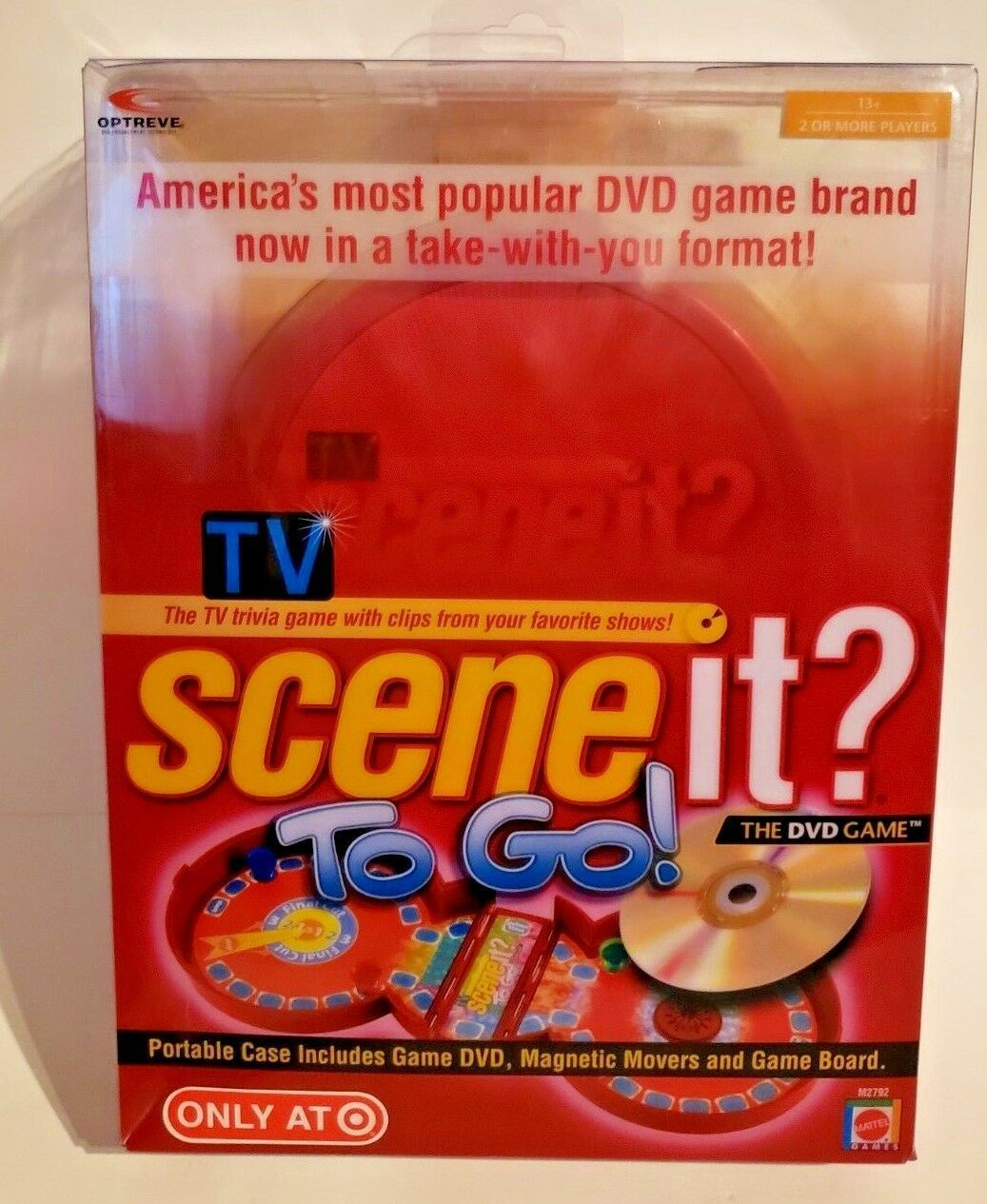 Scene It? To Go. The DVD Game. 2007 Edition..T.V. Trivia To Go..Free Shipping!!!