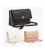 TORY BURCH Kira Chevron Flap Shoulder Bag 53102 Free Gift Free Shipping - $230.00