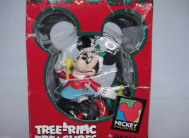 Disney Minnie Mouse Ornament Christmas Shopping... - $14.84