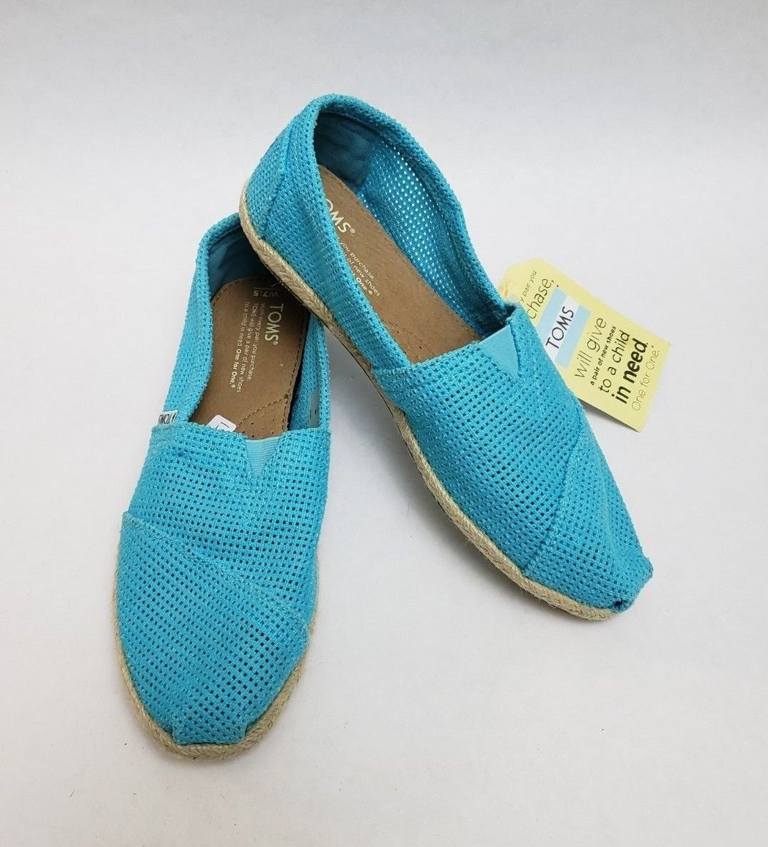 7f2b441f795 Toms Shoes Flats Turquoise Freetown Classic and 50 similar items. S l1600