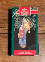 Hallmark Keepsake Ornament Artist's Favorites Stocked With Joy 1992 (NEW) - $4.90