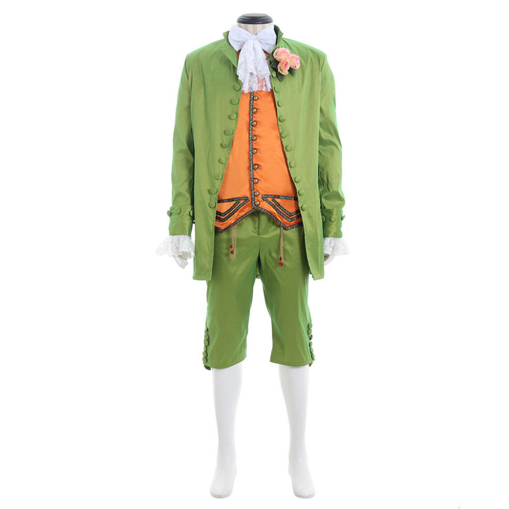 Mens Costume Medieval Renaissance Romeo Stage Tuxedo Suit Custom Made