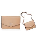 DKNY Whitney Pebble Leather Belt Bag, Latte $98 - $40.37