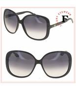 GUCCI WEB 3157 Black Oversized Stripe Woman Sunglasses GG3157S Gradient - $257.40