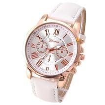 Geneva Women Leather Wristwatch-Multiple Colors - $14.99