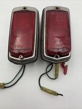 Datsun Nissan Rear Marker Lamp Light IKI 5004 5040 Japan Lot/2 Vintage O... - $28.45