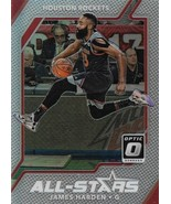James Harden Donruss Optic 17-18 #2 All-Stars Prizm Houston Rockets - $3.50